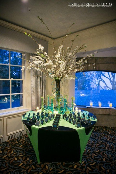Xquisite Flowers and Events Bar Mitzvah Party Decor