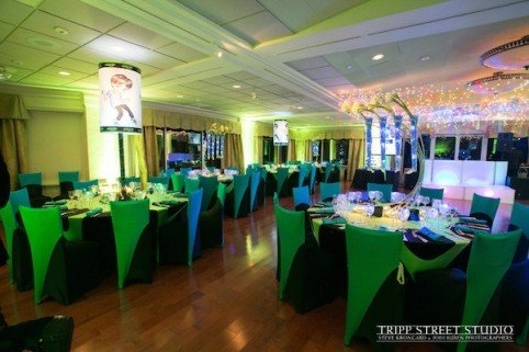 Xquisite Flowers and Events Neon Bar MItzvah Furniture Rental