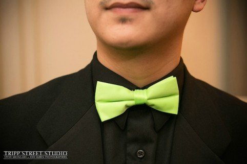 Neon Green Bar MItzvah Event Design Bow Tie Xquisite Flowers and Events party planning