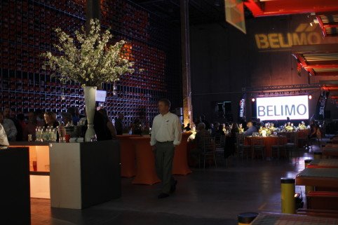 Belimo Americas Warehouse Corporate Event Launch Party in Full Swing