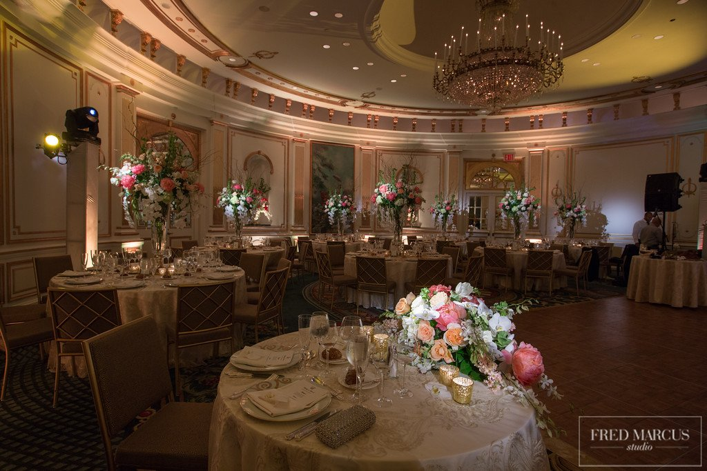 10 X-Quisite Flowers & Events Lotte New York Palace Dream Wedding Villard Ballroom Decor and Flowers.jpg